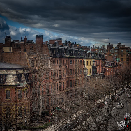 Beacon Street Angry Morning
