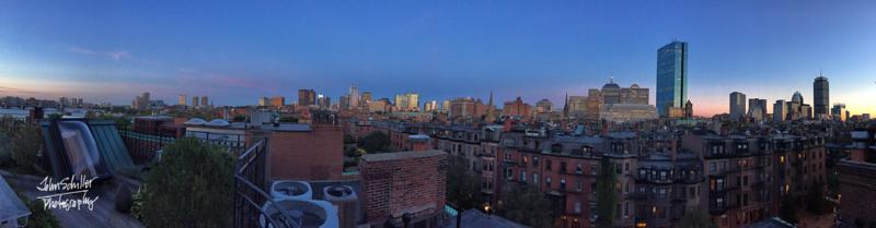 Boston Sunset 360