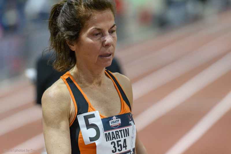 3k American Record for Kathy Martin, at altitude