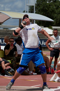 Shot Put, record setting