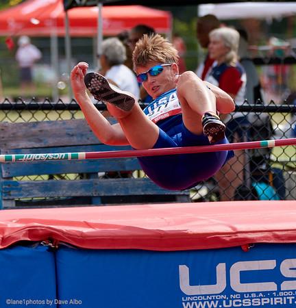 Pentathlon High Jump