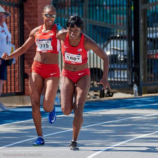 4x100 meter relay
