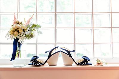 Wedding shoes and flowers   Rayan Anastor Photography   Harbor Spring Wedding Photographer 5