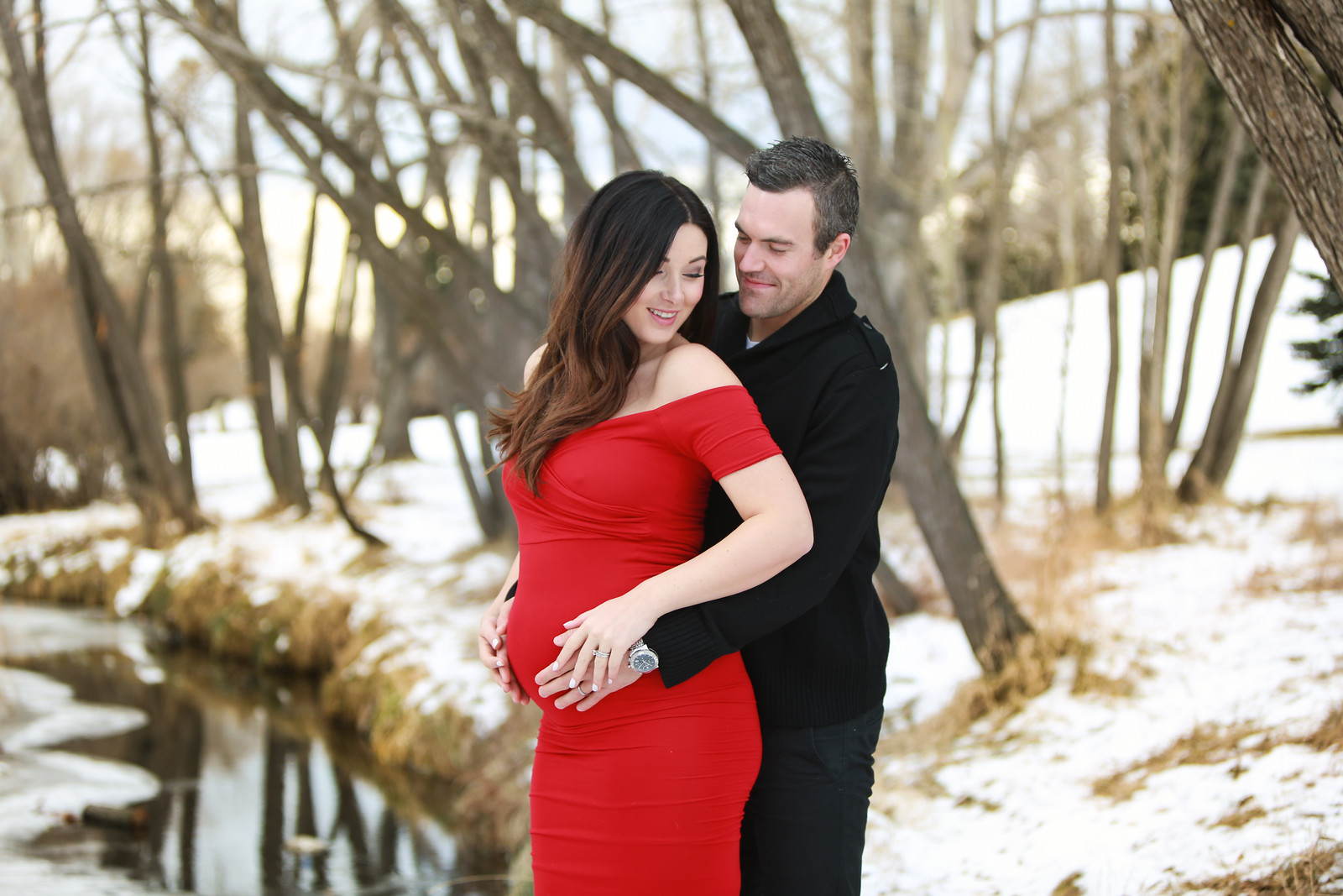 Maternity Photo by Mark Derry Photography