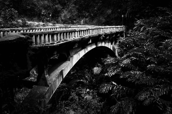 One of 59 ancient bridges on the road to Hana