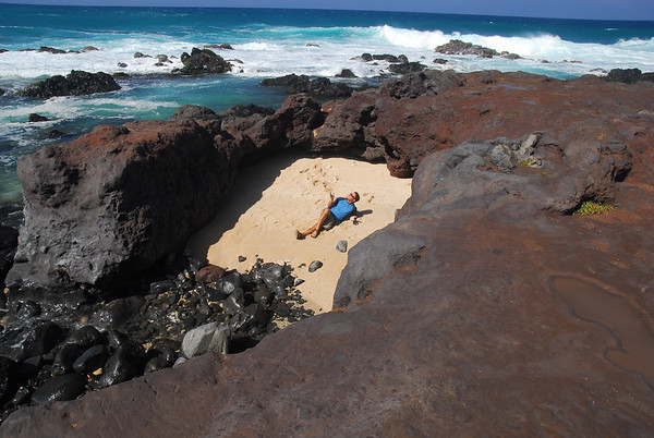 Thanks for viewing... Jared relaxing on his private beach in Maui!