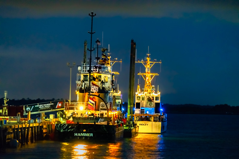 Coast Guard Dockside