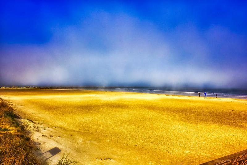 Winter Noon Fog Bank
