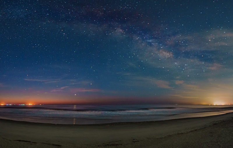 Saturn, Jupiter and Mercury Conjunction with Galactic Center