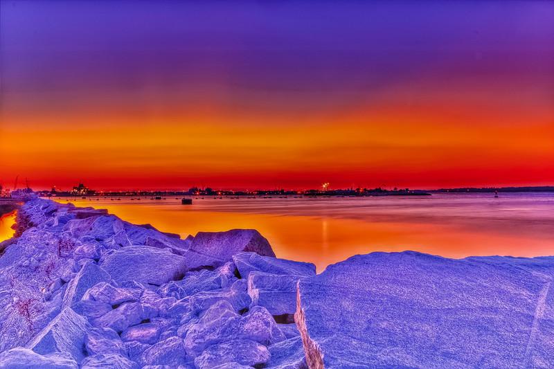 Mayport Basin Sunset
