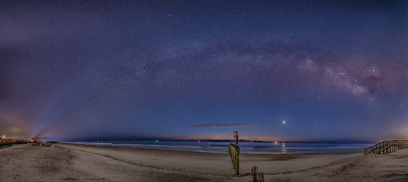 Milky Way at First Light NS Mayport Beach