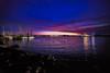 Smoky Blue Hour St. Johns Ferry