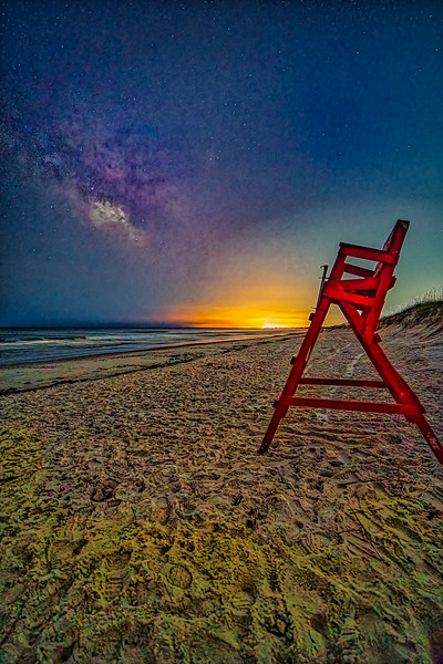 Beach Night Watch