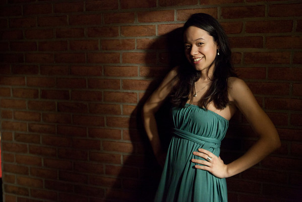 Isabella Mendes, a New Haven resident and frequent contributor to the musical scene in Greater New Haven. She is a Brazilian Jazz singer-songwriter.