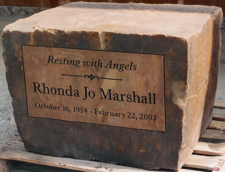 Rhonda Jo Marshall Memorial