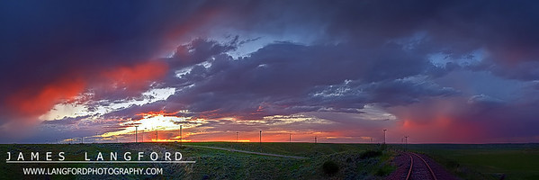 """Another Glorious Sunset""  Fort Benton, MT Summer is my favorite time in Montana.  The evenings seem to last forever, and sunsets can yield incredible colors.Want to buy a print of this image?  Click Here!"