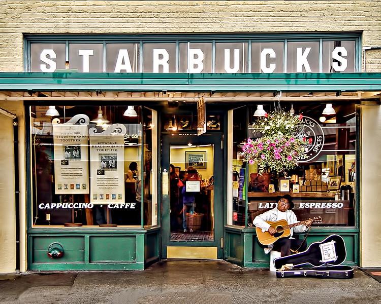 #CM1702 First Starbucks Store
