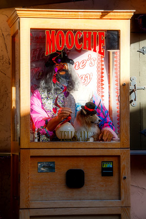 Unpaid, Moochie is discretion itself.