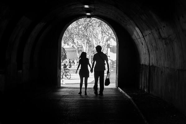 Together beside La  Seine