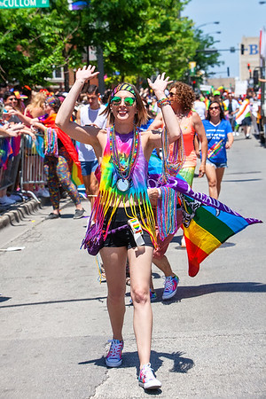 from the 2018 Chicago Pride Parade