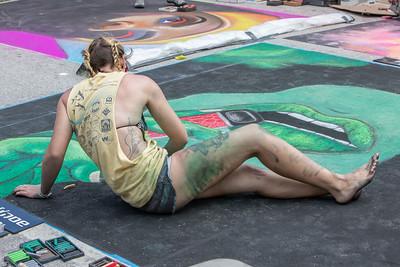 @ the Lake Worth Street Art Festival, 2019