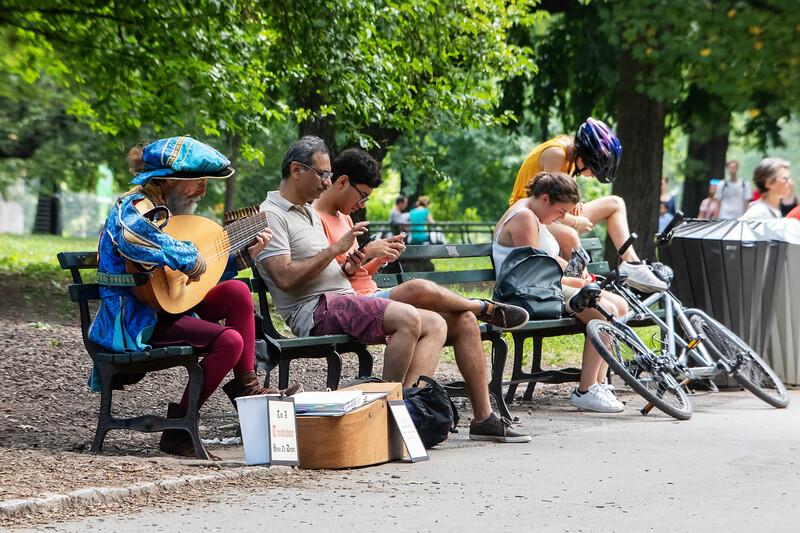 Il Trovatore di Central Park