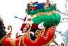 Santa in a self driving sleigh