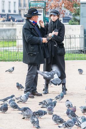 Pigeon People in Paris