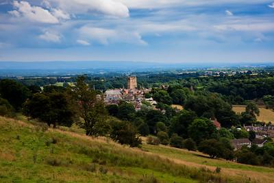outskirts of Richmond, UK