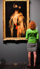 An artist appreciating John Singer Sargent