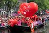 The 2018 Amsterdam Gay Pride Boat Parade