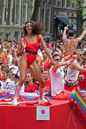 from the The 2018 Amsterdam Gay Pride Boat Parade  Gallery