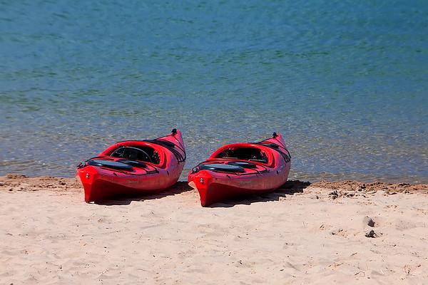 A Couple of Kayaks
