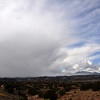 Storm Cloud over Los Alamos and the Jemez Mountains
