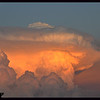 Mushroom Cloud and Moon