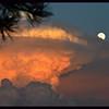 Mushroom Cloud Storm and Moon