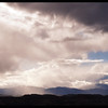 Storm Clouds and Snow Flurries over the Jemez Mountains
