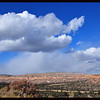 Snow Showers over the Mesa