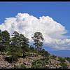 Storm Cloud over the Sangre de Cristo Mountains