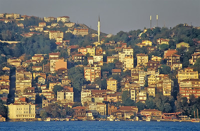 Living on the Bosphorus, Istanbul, Turkey
