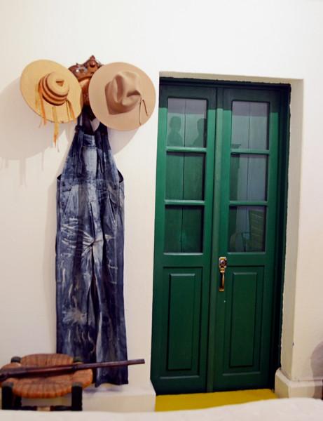 Diego Rivera's room and clothes, Casa Azul, Coyoacán