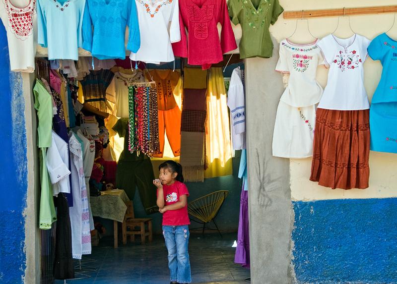 Shop in Ocotlan, near Oaxaca