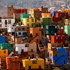 Houses, San Miguel, early morning