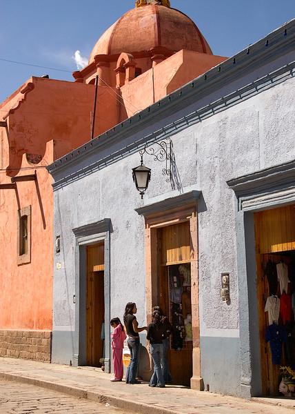 Street scene, Dolores Hidalgo, Mexico