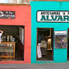 Store fronts, Santa Rosa (Guanajuato)