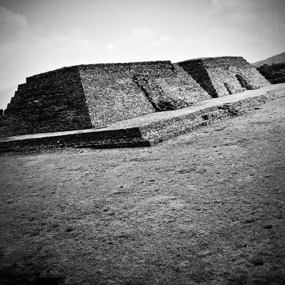 An ancient indigenous ruin in Mexico.