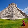 Shooting the Pyramid, Chichen Itza - Yucatan, Mexico