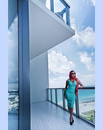Miami Beach with Sonia