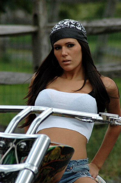 Michelle of Bikerpics.org @ Keystone Choppers, Inc - June 1, 2008 - Nikon D70 - Mark Teicher