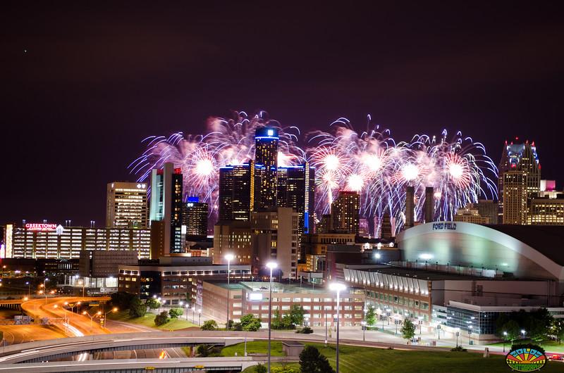 Detroit Fireworks 2014